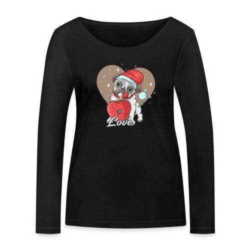 piesek - Ekologiczna koszulka damska z długim rękawem Stanley & Stella
