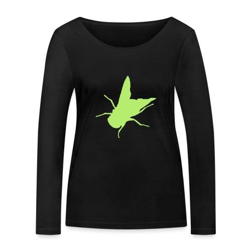 fliege - Frauen Bio-Langarmshirt von Stanley & Stella