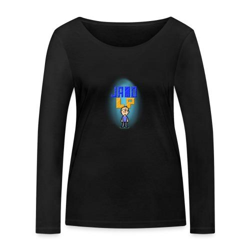 Pixel Jamo - Økologisk Stanley & Stella langærmet T-shirt til damer