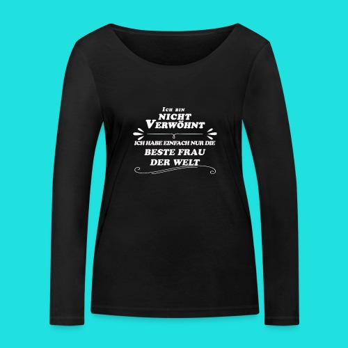Beste Frau der Welt - Frauen Bio-Langarmshirt von Stanley & Stella