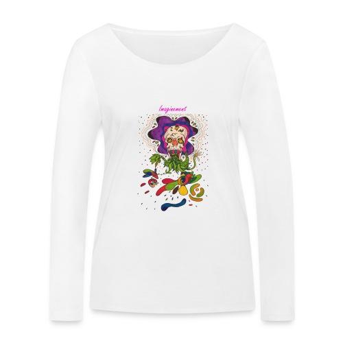 Döskalle - Ekologisk långärmad T-shirt dam från Stanley & Stella