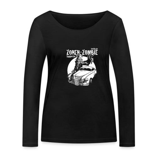 Zonen Zombie Supporter Shirt - Frauen Bio-Langarmshirt von Stanley & Stella