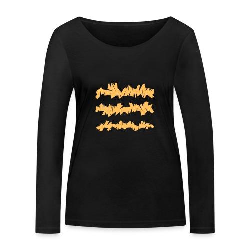 Orange_Sample.png - Frauen Bio-Langarmshirt von Stanley & Stella