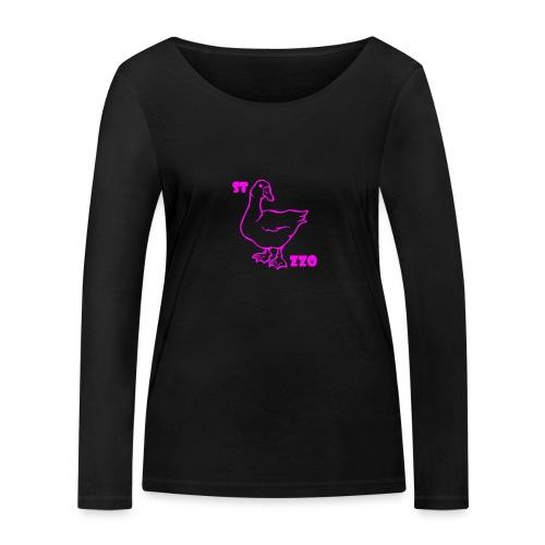REBUS...STOCAZZO - Maglietta a manica lunga ecologica da donna di Stanley & Stella