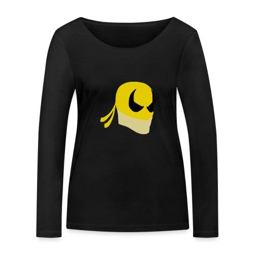 Iron Fist Simplistic - Women's Organic Longsleeve Shirt by Stanley & Stella
