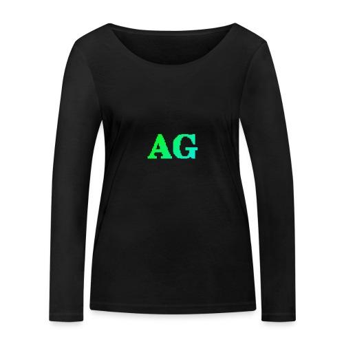 ATG Games logo - Stanley & Stellan naisten pitkähihainen luomupaita