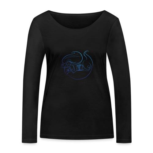 süße Pause - Frauen Bio-Langarmshirt von Stanley & Stella