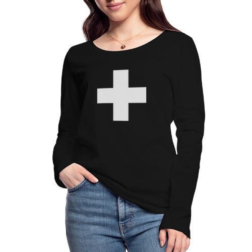 Kreuz - Frauen Bio-Langarmshirt von Stanley & Stella