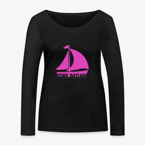 PINK SAILOR - Ekologisk långärmad T-shirt dam från Stanley & Stella