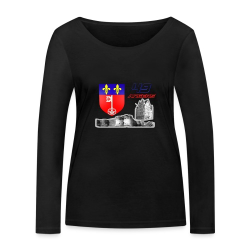 49 Angers - T-shirt manches longues bio Stanley & Stella Femme
