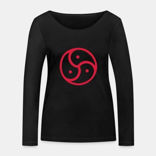 Triskelion / Triskele single-color - Frauen Bio-Langarmshirt von Stanley & Stella