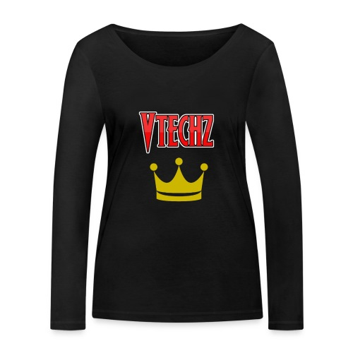 Vtechz King - Women's Organic Longsleeve Shirt by Stanley & Stella