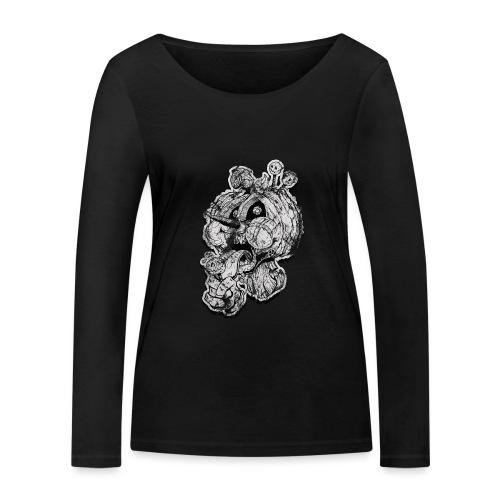 Icecream Haloween Vintage - Frauen Bio-Langarmshirt von Stanley & Stella
