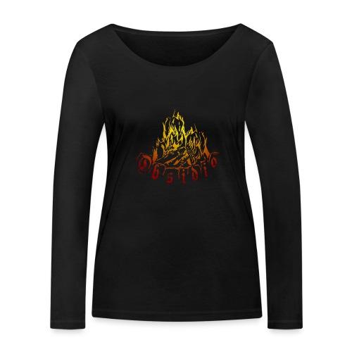 Obsidio Feuer - Frauen Bio-Langarmshirt von Stanley & Stella