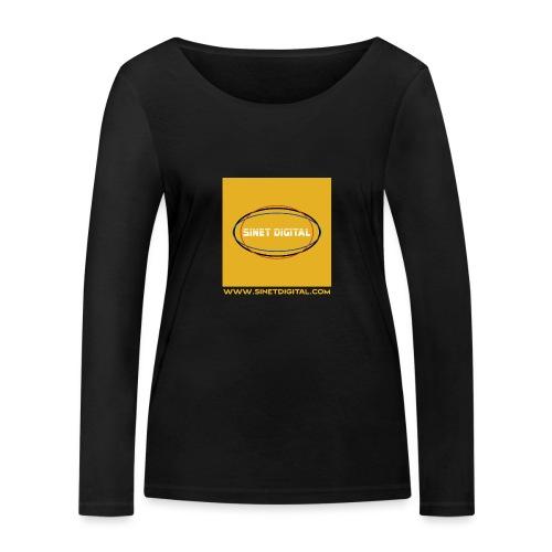 SINET DIGITAL - T-shirt manches longues bio Stanley & Stella Femme