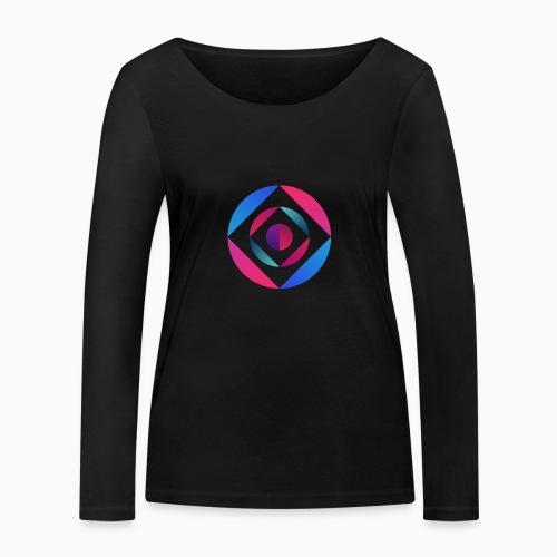 Bi Circle - Women's Organic Longsleeve Shirt by Stanley & Stella