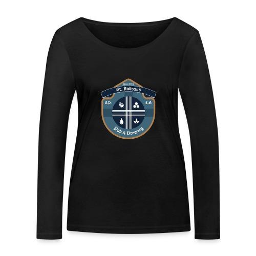 St Andrews T-Shirt - Maglietta a manica lunga ecologica da donna di Stanley & Stella