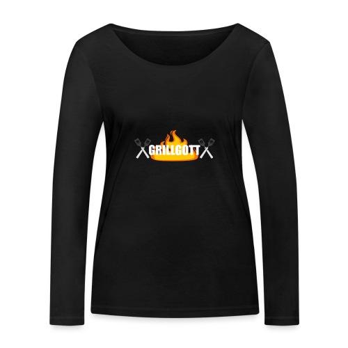 Grillgott Barbecue Experte - Frauen Bio-Langarmshirt von Stanley & Stella