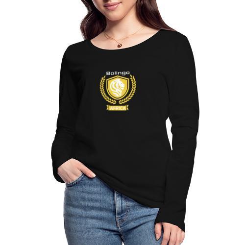 bolingo jaune - T-shirt manches longues bio Stanley & Stella Femme