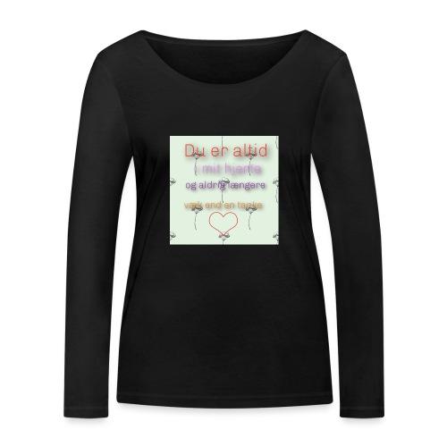 En tanke - Økologisk Stanley & Stella langærmet T-shirt til damer