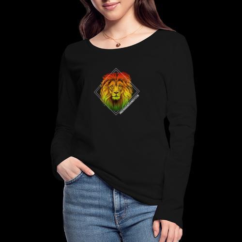 LION HEAD - UNDERGROUNDSOUNDSYSTEM - Frauen Bio-Langarmshirt von Stanley & Stella