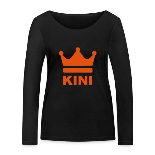 KINI ist König - Frauen Bio-Langarmshirt von Stanley & Stella