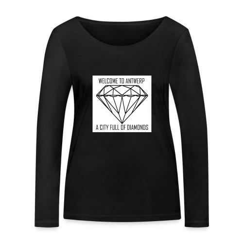 Antwerp lover - Vrouwen bio shirt met lange mouwen van Stanley & Stella