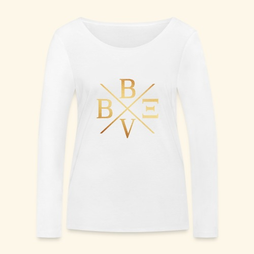 BVBE Gold X Factor - Women's Organic Longsleeve Shirt by Stanley & Stella