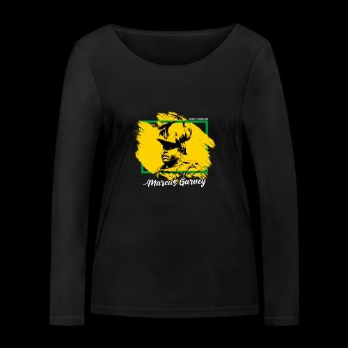 MARCUS GARVEY by Reggae-Clothing.com - Frauen Bio-Langarmshirt von Stanley & Stella