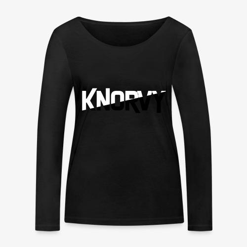 KNORVY - Vrouwen bio shirt met lange mouwen van Stanley & Stella