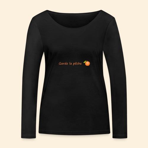 Garde la pêche - T-shirt manches longues bio Stanley & Stella Femme