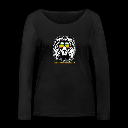RASTA REGGAE LION - Frauen Bio-Langarmshirt von Stanley & Stella