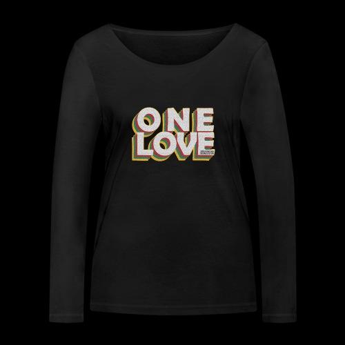 ONE LOVE - Frauen Bio-Langarmshirt von Stanley & Stella