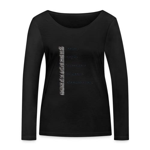 5 Tenets Taekwondo Kid's Hoodie 2 - Women's Organic Longsleeve Shirt by Stanley & Stella