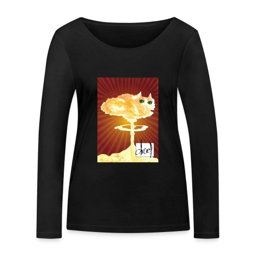 Atoompoes - Vrouwen bio shirt met lange mouwen van Stanley & Stella