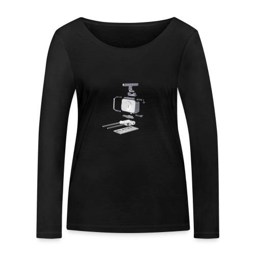 VivoDigitale t-shirt - Blackmagic - Maglietta a manica lunga ecologica da donna di Stanley & Stella