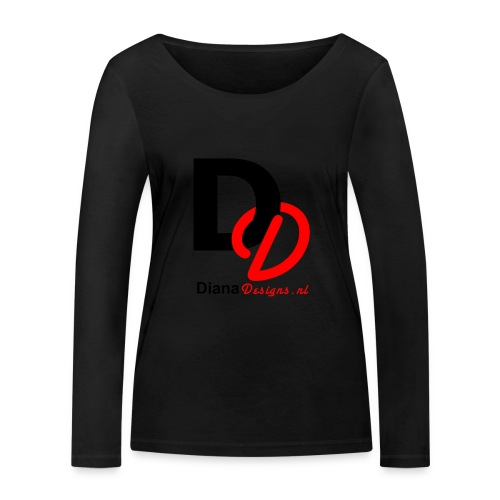 logo_diana_designs-nl - Vrouwen bio shirt met lange mouwen van Stanley & Stella