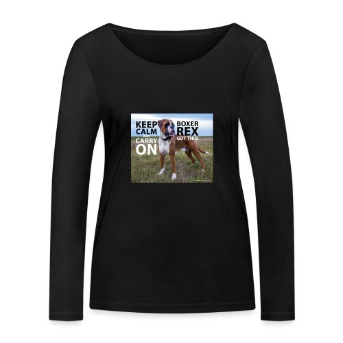 Keep calm and carry on - Women's Organic Longsleeve Shirt by Stanley & Stella