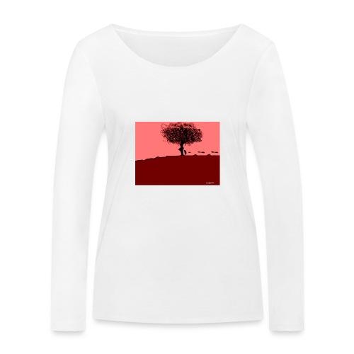 albero_0001-jpg - Maglietta a manica lunga ecologica da donna di Stanley & Stella