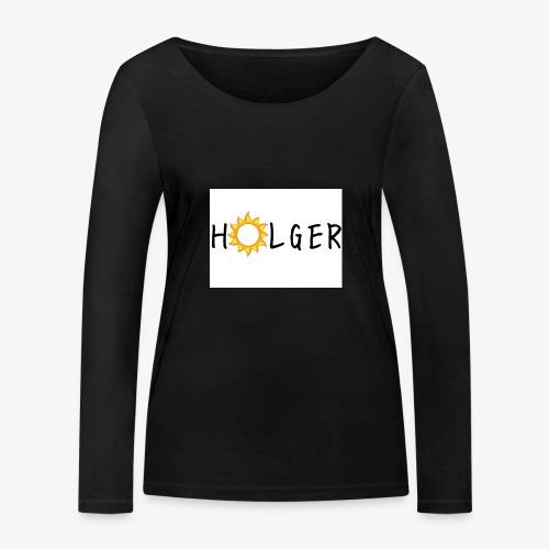 Holger Sommer edition kap - Økologisk Stanley & Stella langærmet T-shirt til damer