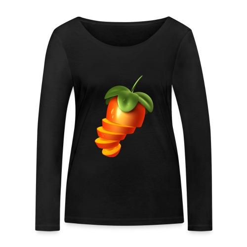 Sliced Sweaty Fruit - Women's Organic Longsleeve Shirt by Stanley & Stella