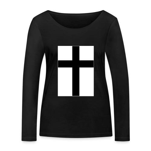 Cross - Ekologisk långärmad T-shirt dam från Stanley & Stella