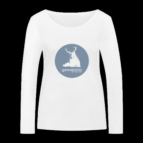 geweihbär - Frauen Bio-Langarmshirt von Stanley & Stella