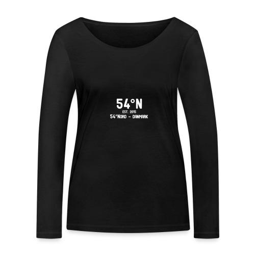 54°Nord NO square t-shirt - Økologisk Stanley & Stella langærmet T-shirt til damer