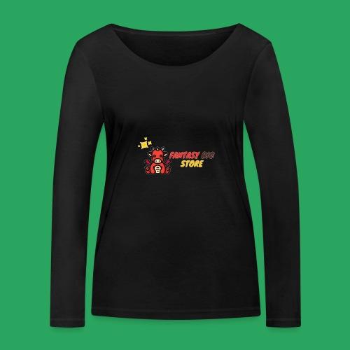 Fantasy big store - Maglietta a manica lunga ecologica da donna di Stanley & Stella
