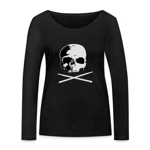 skull and sticks - Frauen Bio-Langarmshirt von Stanley & Stella