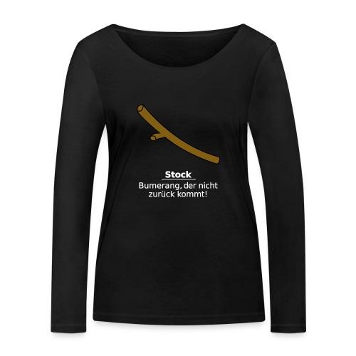 Stock Bumerang - Frauen Bio-Langarmshirt von Stanley & Stella