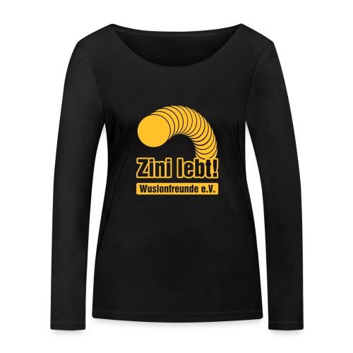Zini lebt! - Frauen Bio-Langarmshirt von Stanley & Stella