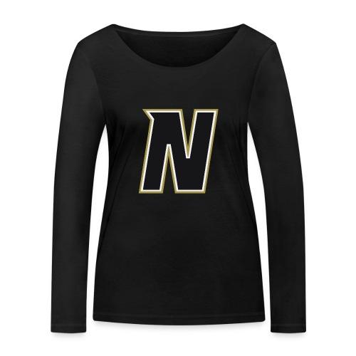 Nordic Steel Black N - Women's Organic Longsleeve Shirt by Stanley & Stella
