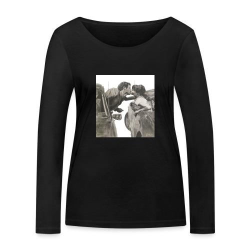 Travel fondo blanco - Camiseta de manga larga ecológica mujer de Stanley & Stella